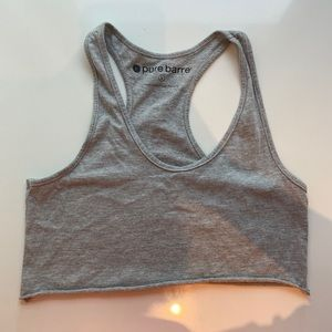 PURE BARRE cropped tank